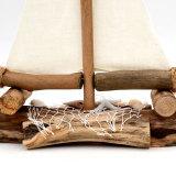 Driftwood Sailboat Ornament - Nautical Home / Hotel / Wedding / Office / Nursery Decor - Interior Design Drift Wood Ships