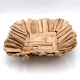 Driftwood Decorative Bowl, Farmhouse Rustic Wooden Bowl Table CenterPiece