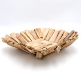 Driftwood Decorative Bowl, Farmhouse Rustic Wooden Bowl Table CenterPiece