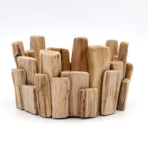 Handmade Wooden Tealight Holders, Votive Holder
