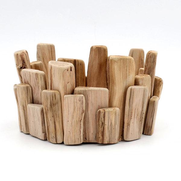 Handmade Wooden Tealight Holders, Votive Holder
