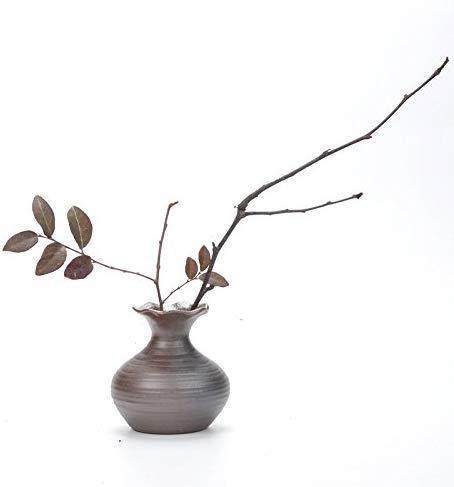 Small Vase Japanese Vintage Mini Vase for Home/Office/Study Room Decor Decoration (3 , Vintage)