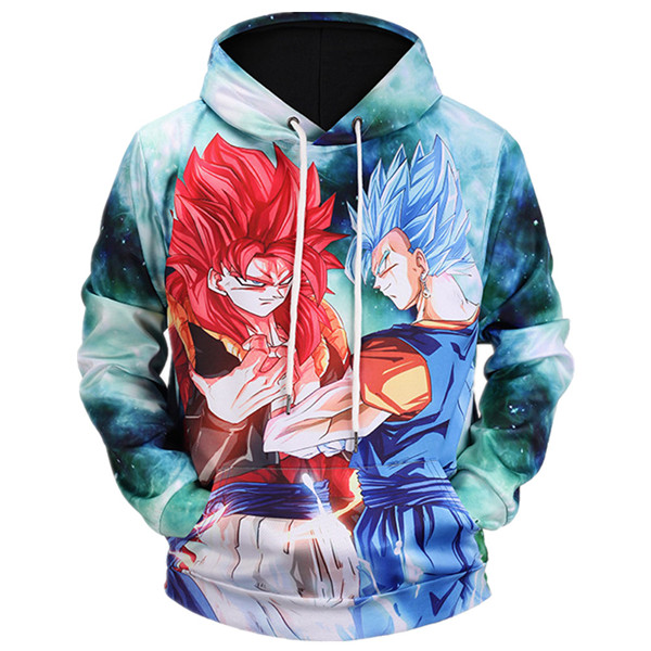Super Saiyan 4 VS Super Saiyan Blue Hoodies