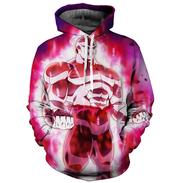 Dragon Ball Jiren The Grey Cosplay Pullover