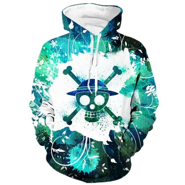 One Piece Strawhat Pirate Hoodie Sweatshirts