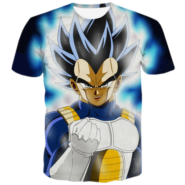 Ultra Instinct Vegeta 3D Graphic T-shirt Family Gift