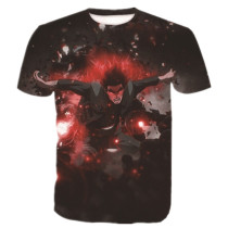 Eighth Gate Full Power Might Guy Breathable Men Tee Shirt
