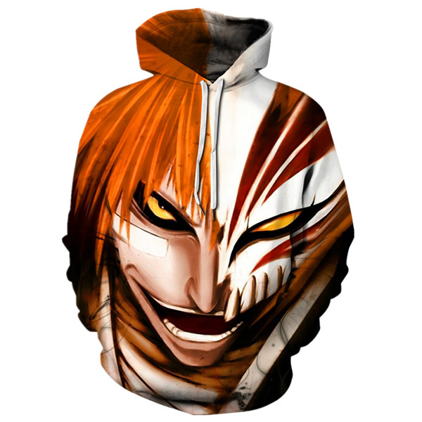 Ichigo Hollows Mask Fusion Bankai Hoodie
