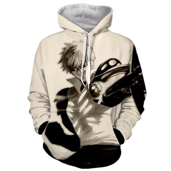 One Punch Man Cyborg Genos Sweatshirts Hoodies