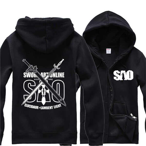 Sword Art Online Kirigaya Kazuto Long Sleeve Hoodies Jogger SAO