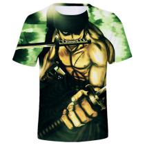 Pirate Hunter Roronoa Zoro Simple Short-Sleeve T-Shirt