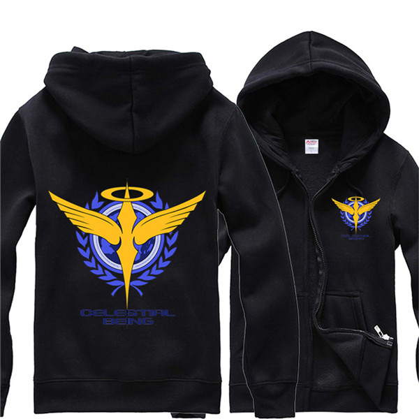 Gundam Celestial Being Jacket Cashmere Hoodies