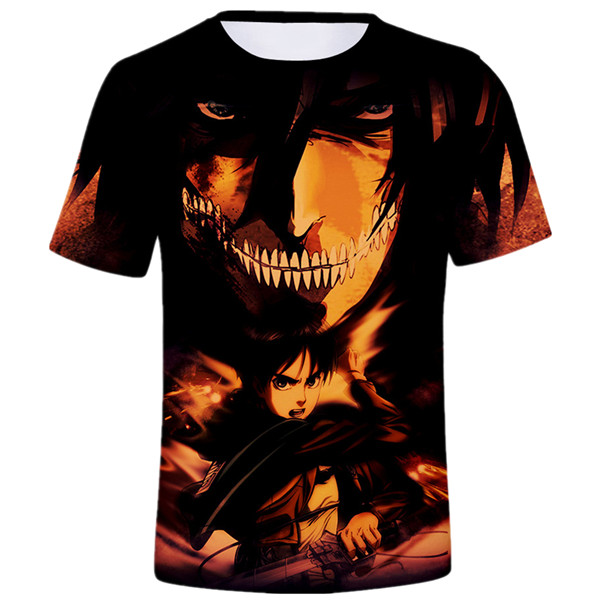 Attack on Titan Eren T-shirt Birthday Gift