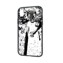 IPhone X XR XS 6 7 8 Plus Soft TPU Rubber Case with Clear Back Doflamingo