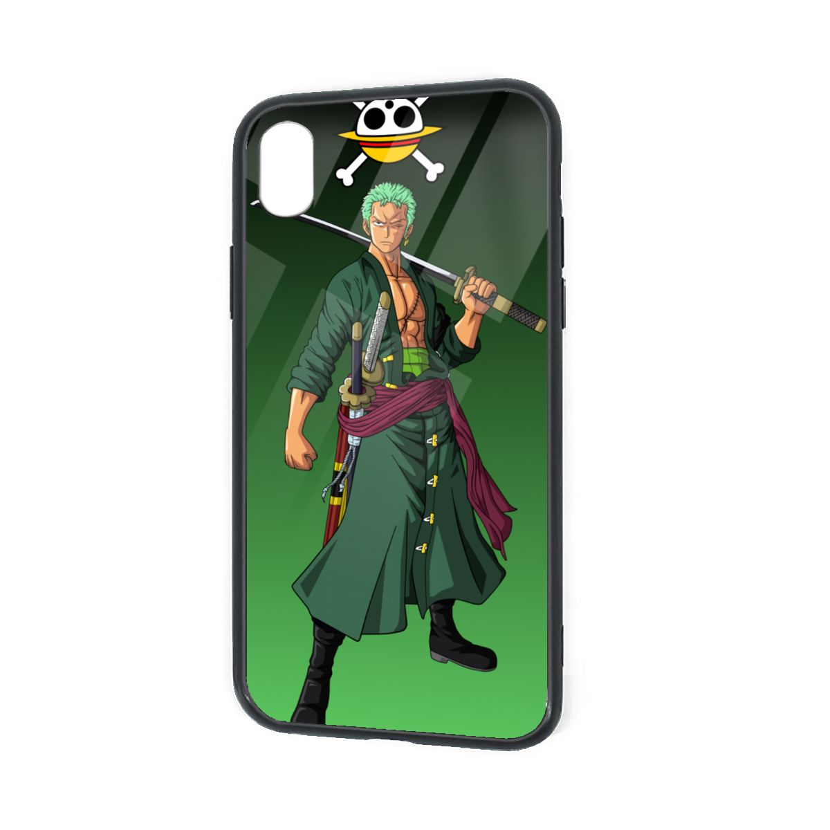 IPhone X XR XS 6 7 8 Plus Soft TPU Case Cover Roronoa Zoro