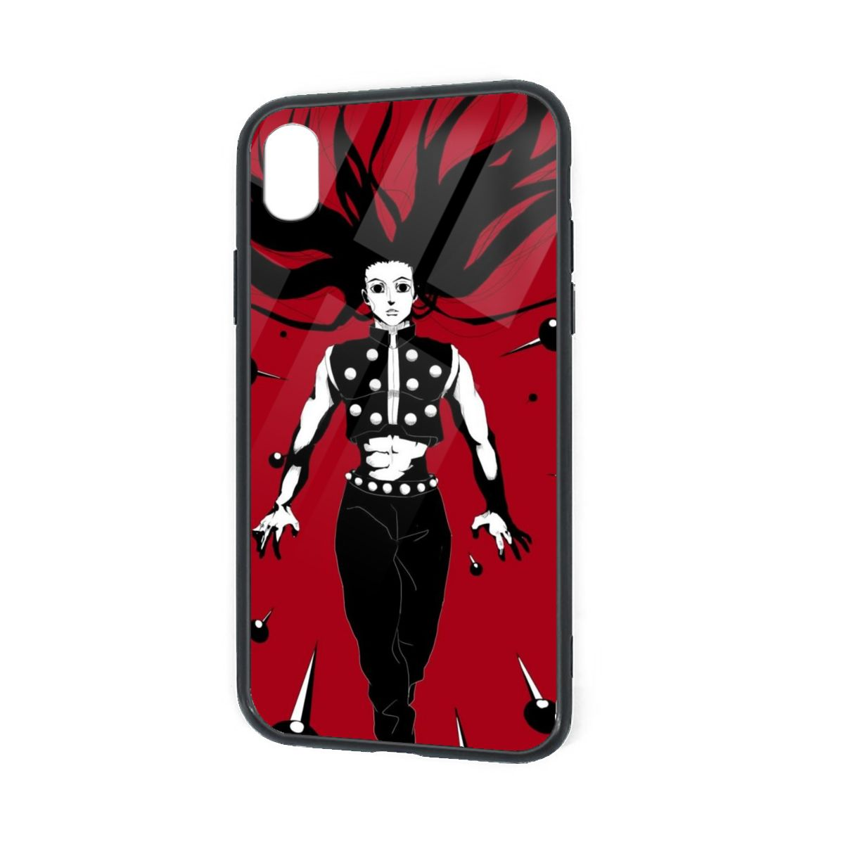 IPhone X XR XS 6 7 8 Plus Anime Soft Silicone Phone Case Illumi Zoldyck