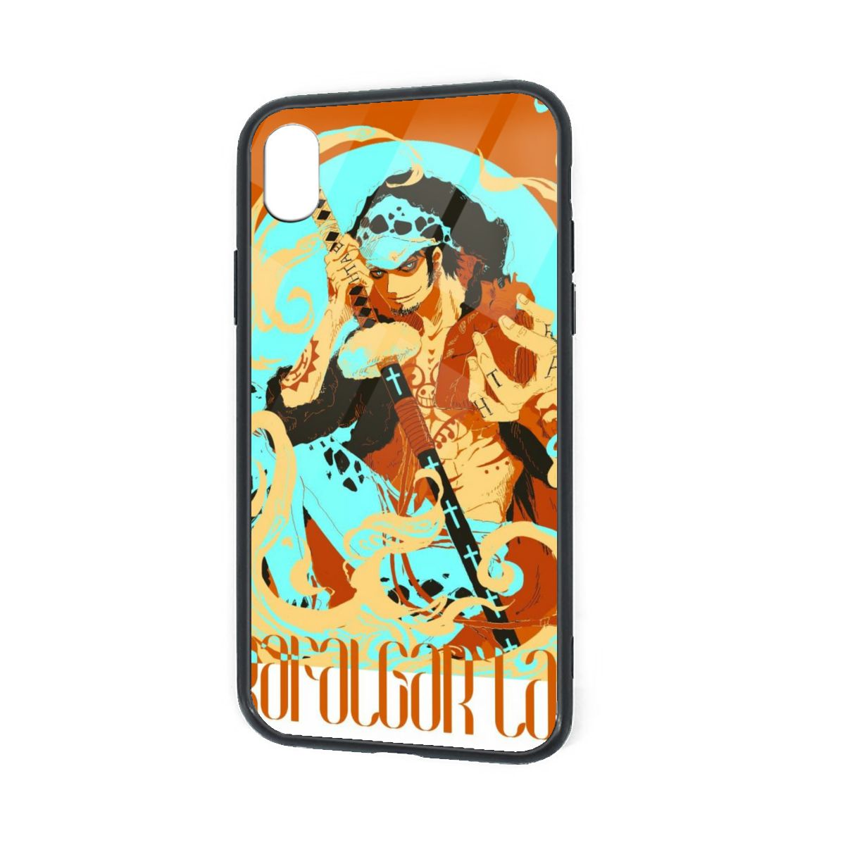 IPhone X XR XS 6 7 8 Plus Soft TPU Case Cover Pirate Trafalgar Law