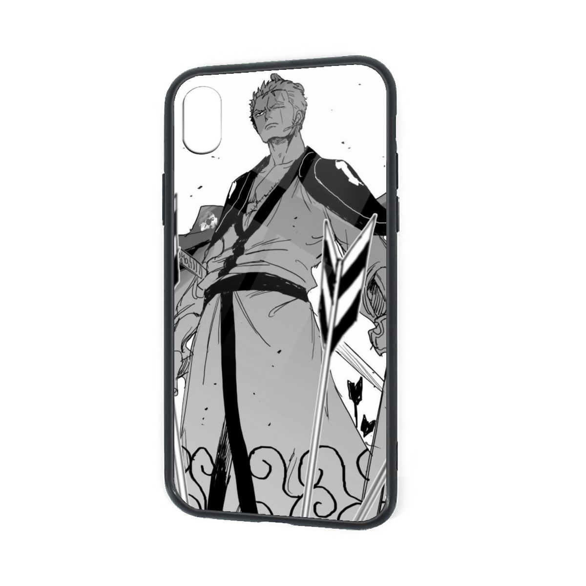 IPhone X XR XS 6 7 8 Plus Soft TPU Case Cover Samurai Zoro