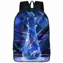 Laptop Travel Backpack Daypack School Bookbag for Students No Game No Life