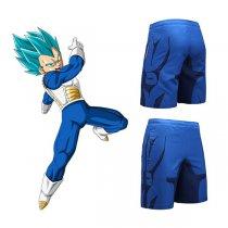 93f37015f076d Quick Dry Vegeta Summer Shorts Men Anime Fitness Underpants
