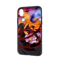 IPhone X XR XS 6 7 8 Plus Flexible Slim TPU Protector Cover Ichigo Hollow Stage 5