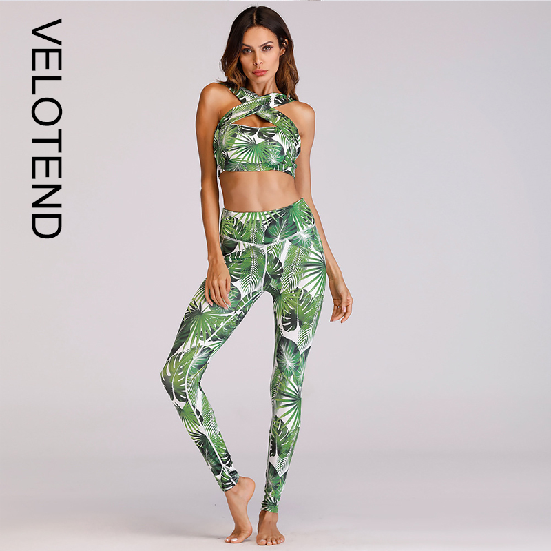 6b01239e1e0f3a Women Fitness Suit Yoga Set Gym Clothes Sports Running Leggings Sport Bra  Tracksuit Quick Dry Sportswear ...