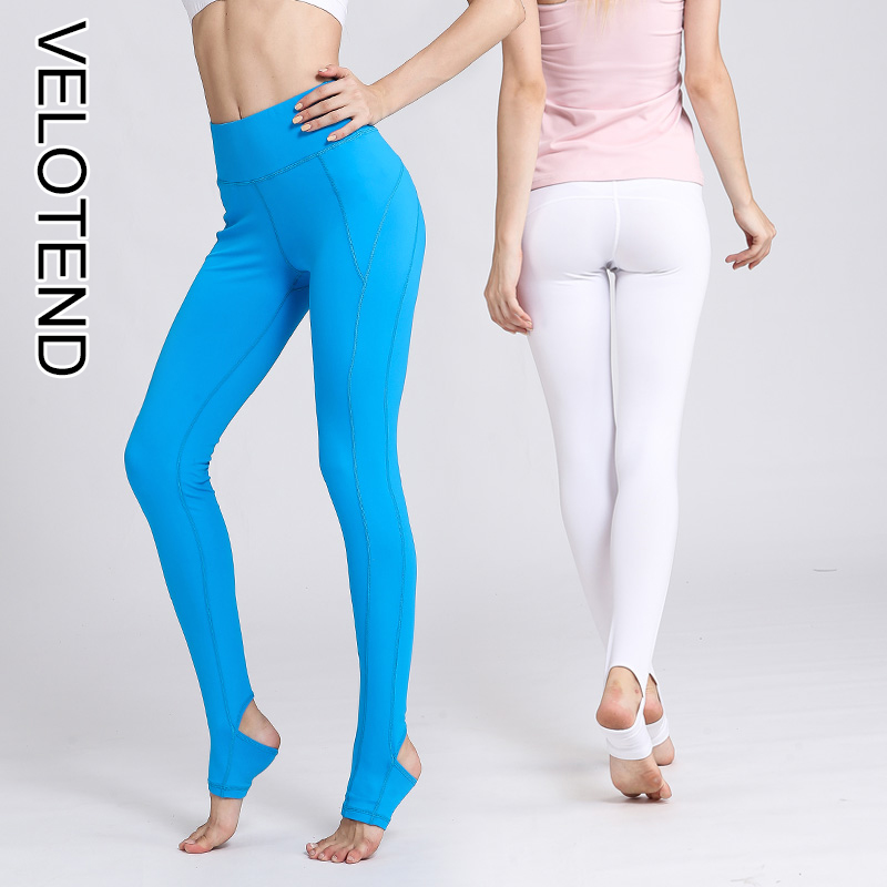 5aedc7d788ae5 Women Yoga Leggings for Fitness Push Up Plus Size Sports Pants High Waist  Stretch Bodybuilding Workout