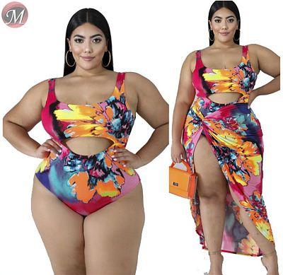 D908049 queenmoen new design High quality best selling sexy print bikini set women Two Piece Swimsuit swimwear plus size