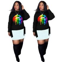 Q101509 clearance sale Fashion Print T-shirt Women