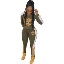 Q110401 new fashion 2019 Clothing Two Piece Pant Set Women