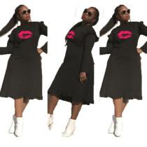 Q110504 fashion seasonal onsales women casual long shirt dresses