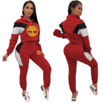 Q111103 fashion sport Woman Women Fall Sets Fashion Two Piece