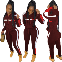 Q111204 sport fashion Woman 2 Piece Set Women Clothing Pants