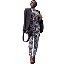 Q111308 2019 new fashion design Pant Two Piece Set Women Clothing