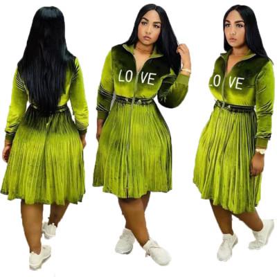 Q112303 high fashion latest designs ladies fashion casual coat dress