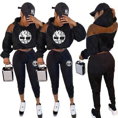 Q112204 high fashion Wholesale 2 Piece Set Women Clothing Pants