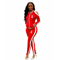 Q010803 Fashion Women Clothing Two Piece Pants Suit Set
