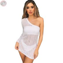 hot onsale crochet cover up beachwear women sexy knitted beach dress beach dress beachwear sexy bikini cover up