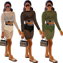 0042015 Summer Women Clothing Mesh Cover Up Boutique Women Clothing Top And Shorts Set Latest Design Fashional 2 Piece Set Women