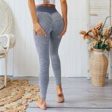 0051524 Fashion Buttock Lefting High Waist Ladies Stretch Pants Sports Skinny Fitness Long Women Seamless Tight Yoga Pants