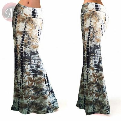 Ladies Hight Waist Fashionable Sexy Casual Expansion Long Maxi Skirt Dress Women Cloth Skirts
