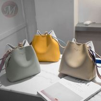 Summer mini bucket bag fashion collision color casual wild diagonal shoulder bag cute girl phone cross hand bag