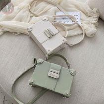 New fashion Female Bag Shoulder Messenger Portable Small Square Bag Box Bag Fashion Handbags Female