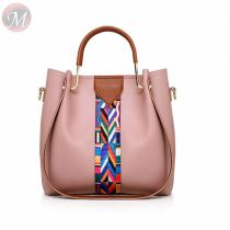 2020 fashion casual New Design women purse backpack four-piece ladies shoulder bag pu handbag