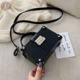 New fashion Female Bag Shoulder Messenger Portable Small Square Bag Box Bag Fashion Handbags Female