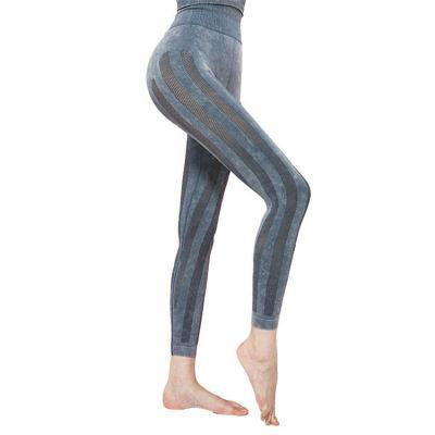 Hot onsale high waist tight breathability mesh Yoga Leggings Gym Workout Training Ankle Length Yoga Pants