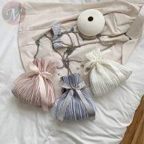 2020 hot sale Latest bowknot chain Crossbody Bag all-match Square Shoulder Handbag Purse