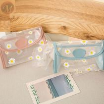Fashion ladies Custom simple transparent shoulder bags women Chrysanthemum Jelly crossbody bag