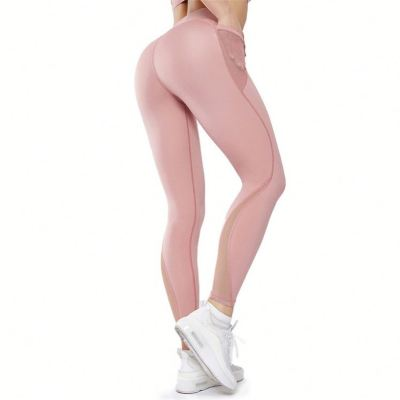 Wholesale Custom Women high waist tight Gym Wear Sport Workout Yoga Pants Fitness Leggings Yoga Pants