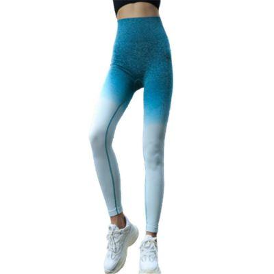 Custom Logo elastic breathability tight Fitness Yoga Wear Women Seamless Gym Workout Leggings Tight Yoga Pants
